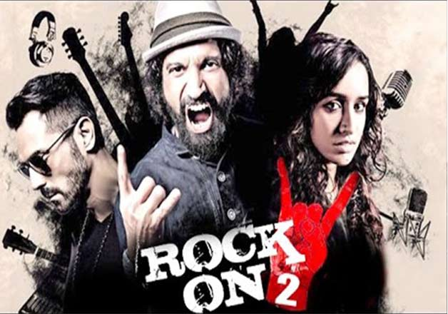 Recently released 'Rock On!! 2'was the sequel of 2008 film, 'Rock On!!'. The film has two new entrants - Shraddha Kapoor and Shashank Arora . The film's initial collection was affected due to Demonetisation of Rs 500 and Rs 1000 notes.