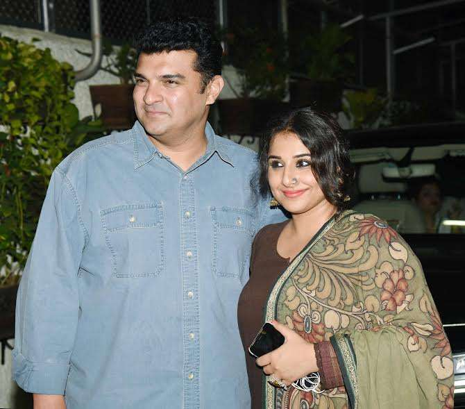 Vidya was seen with her hubby Sidharth Roy Kapur, who was visibly very proud of his wife's wonderful performance in the movie. Recently, Vidya had commented that Sidharth believed she has a violent streak in her.