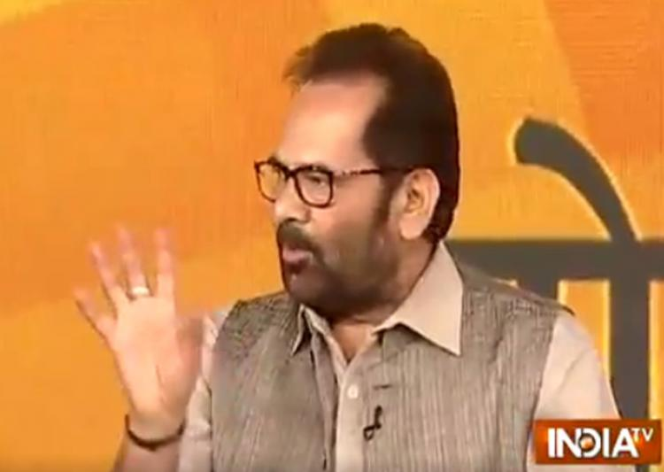 Union Minority Affairs Minister Mukhtar Abbas Naqvi today assured the country that defence forces are enough capable to deal with Pakistan and that they are giving befitting reply to the neighbouring country.