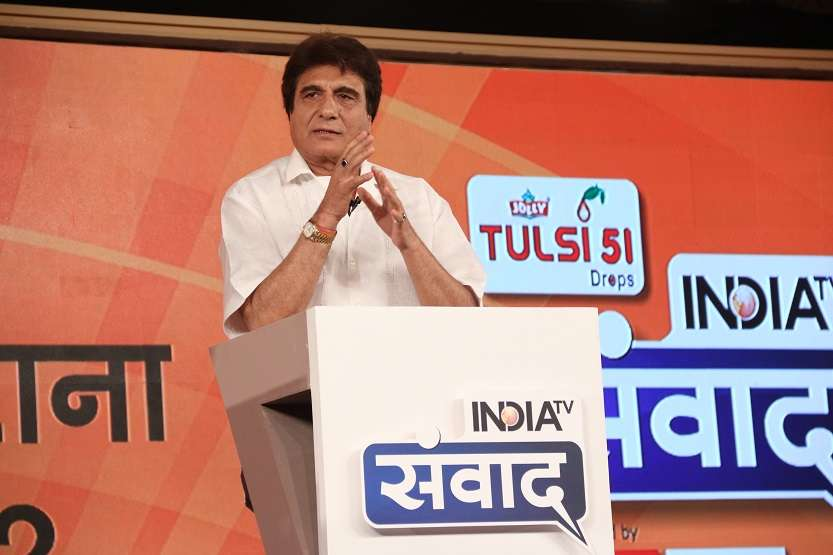 Congress party leader Raj Babbar questions Modi govt's promise of providing 2 crore jobs to youth.