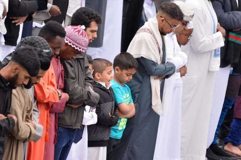 More than 1,00,000 people gathered for Eid at Small Heath Park in Birmingham.