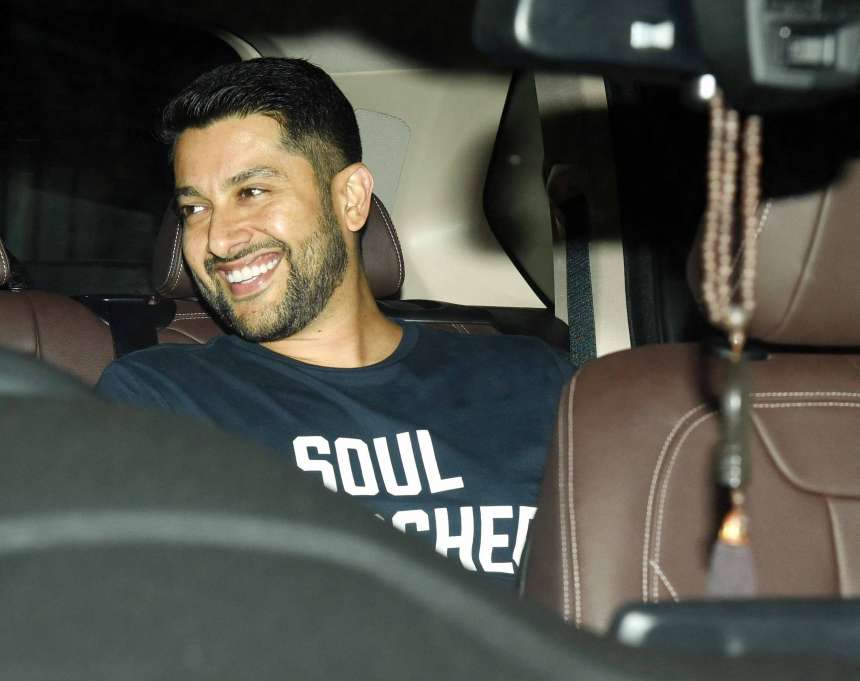 Aftab Shivdasani, who has already worked with Ritesh in Masti franchise, was also seen at the screening of the movie along with his wife Nin Dusanj.