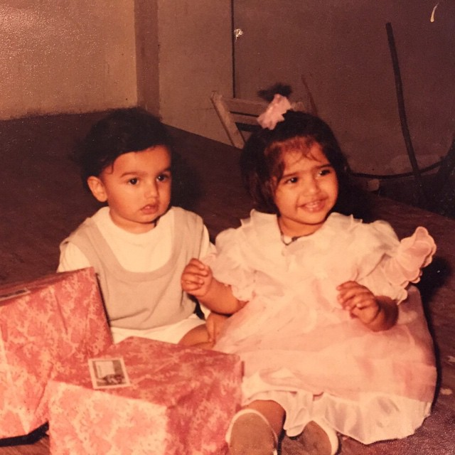 It's said that the first person a sister befriends is her brother. This picture of Sonam Kapoor and her cousin brother Arjun Kapoor describes the same