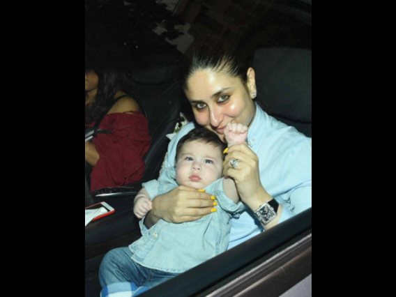 Recently, Kareena took her son Taimur along with her to Tusshar Kapoor's son's Laksshya birthday bash. And all the shutterbugs at the event was spotted clicking mostly Kareena's son Taimur.