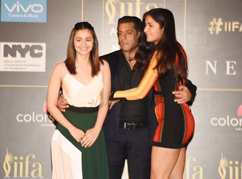 Salman Khan, Katrina Kaif and Alia Bhatt graced the event with stylish entry and interesting conversation.