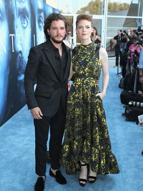Kit Harington and Rose Leslie who played Ygritte