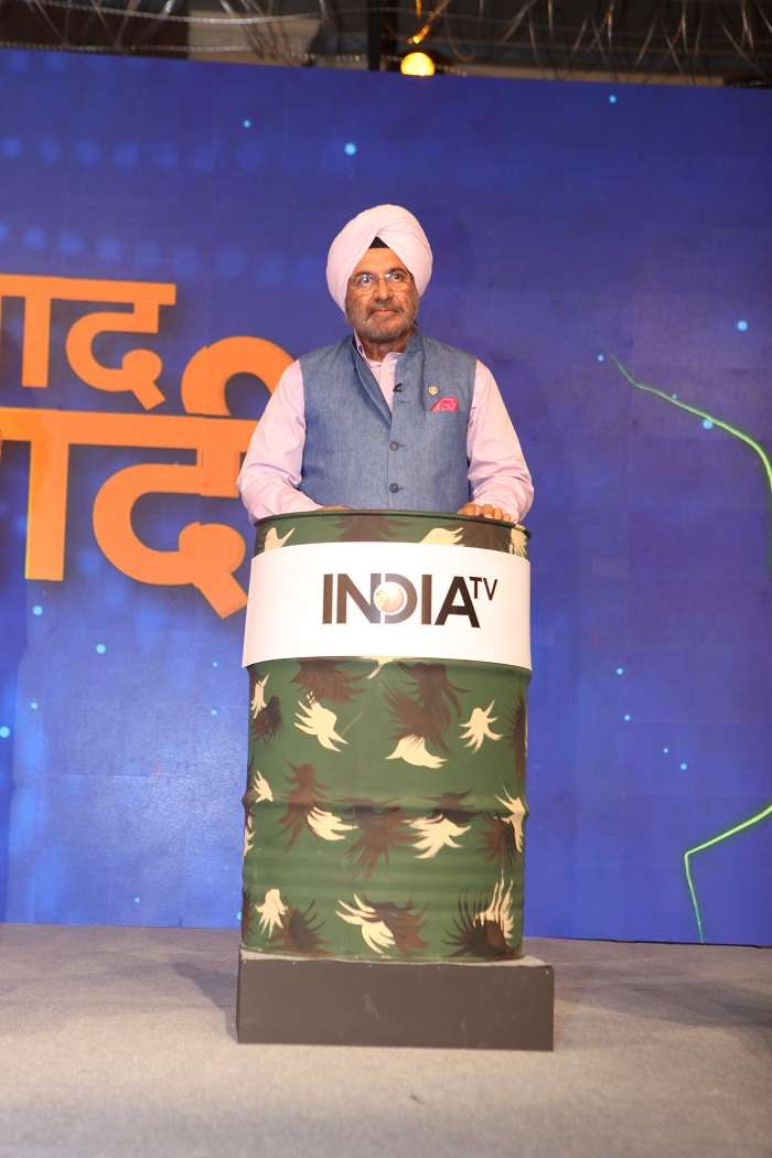 It's Indian Army that has stopped the Chinese in Doklam, said Gen JJ Singh