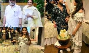 Bollywood celebs like Pankaj Kapur with wife Supriya