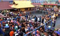 File photo of Sabrimala temple