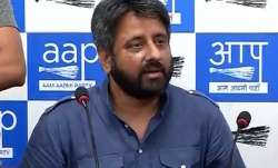 File pic of AAP MLA Amanatullah Khan