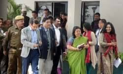 IAS Association Secretary Manisha Saxena, along with other