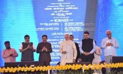 PM Modi on Sunday laid foundation for Navi Mumbai