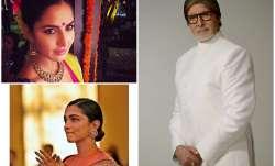 Amitabh Bachchan, Deepika Padukone, Katrina Kaif