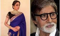 Sridevi, Amitabh Bachchan