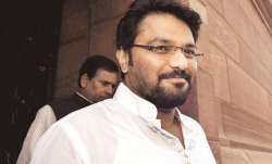 File pic of Union Minister Babul Supriyo