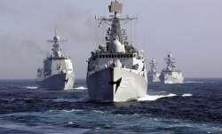 Amid political crisis in Maldives, Chinese warships sail