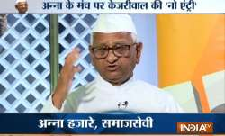 Anna Hazare said the agrarian issues would be among the