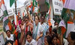 Congress had held protests across the country against