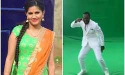 Sapna Choudhary,Chris Gayle