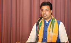File photo of Tripura CM Biplab Deb