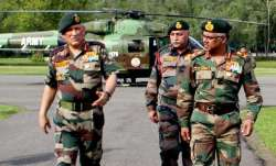 File photo of Army chief Bipin Rawat (elft)