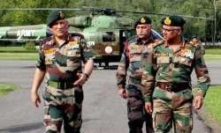 File photo of Army chief Bipin Rawat (elft)