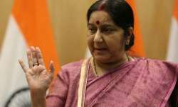 Sushma Swaraj  met the Diplomatic Advisor to the President