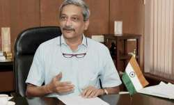 Goa Chief Minister Manohar Parrikar