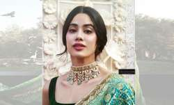 Janhvi Kapoor redefines elegance in this light green