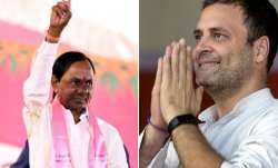 KCR and Rahul Gandhi