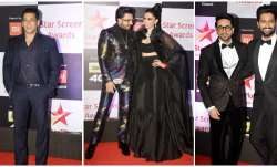 Bollywood celebrities walked down the red carpet of Star