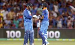 MS Dhoni pulled off a tight finish for India just like old