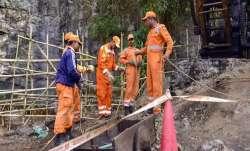 Operation underway at Meghalaya mine.