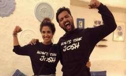 Vicky Kaushal celebrates Uri success with girlfriend
