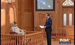 Mehbooba Mufti in Aap Ki Adalat