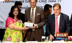 India TV Chairman and Editor-in-Chief Rajat Sharma honored