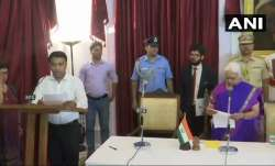Pramod Sawant swears in as 11th Goa Chief Minister at 2 am
