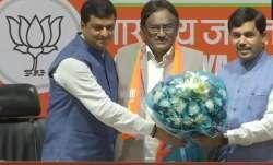 Congress leader S. Krishna joins BJP in Kerala