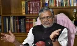 Senior BJP leader and Bihar Deputy Chief Minister Sushil
