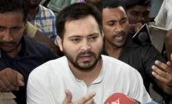 Rashtriya Janata Dal (RJD) leader Tejashwi Yadav.