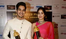 Janhvi Kapoor and Ishaan Khatter look ravishing as they got