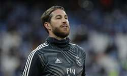 Real Madrid captain Sergio Ramos