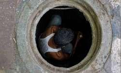 Sewage water tank collapse (Representational image)