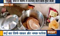 'Namak-roti' served as mid-day meal; 2 teachers suspended