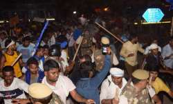 Protest by Dalits against temple demolition in Delhi turns