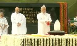 PM Modi pays tribute to BJP stalwart at Sadaiv Atal memorial