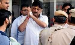 DK Shivakumar hospitalised for the third time