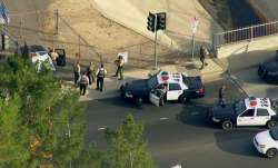 At least 6 injured at high school shooting, suspect at large
