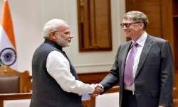 Bill Gates meets PM Modi in Delhi