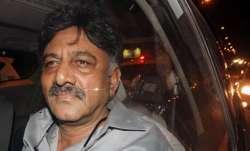 DK Shivakumar admitted to hospital